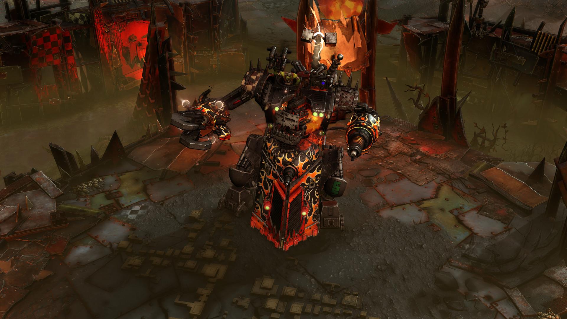 Скриншот к игре Warhammer 40,000: Dawn of War III (2017) PC   RePack от R.G. Механики
