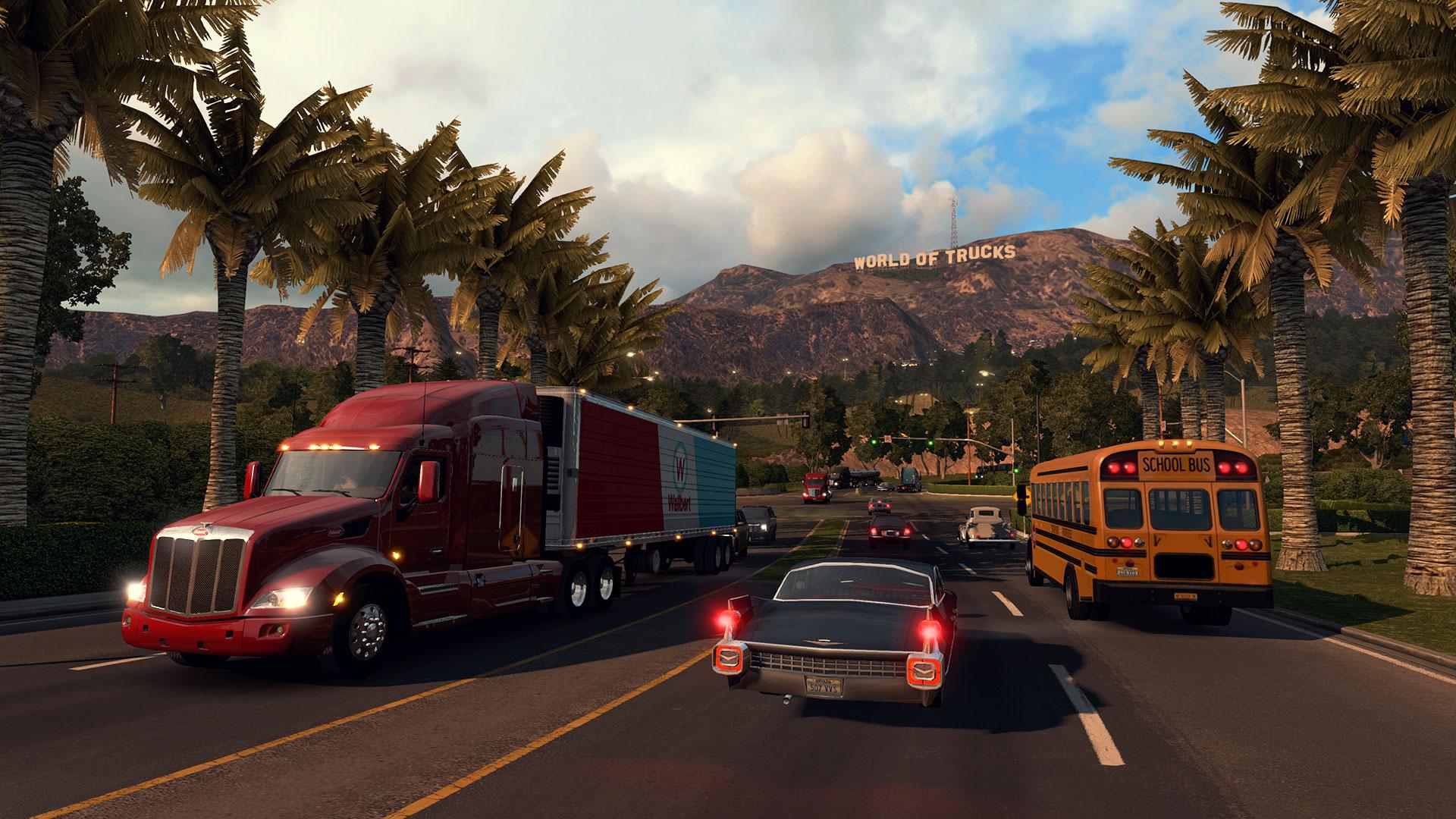 Скриншот к игре American Truck Simulator [v 1.6.2.4s + 14 DLC] (2016) PC | RePack от R.G. Механики