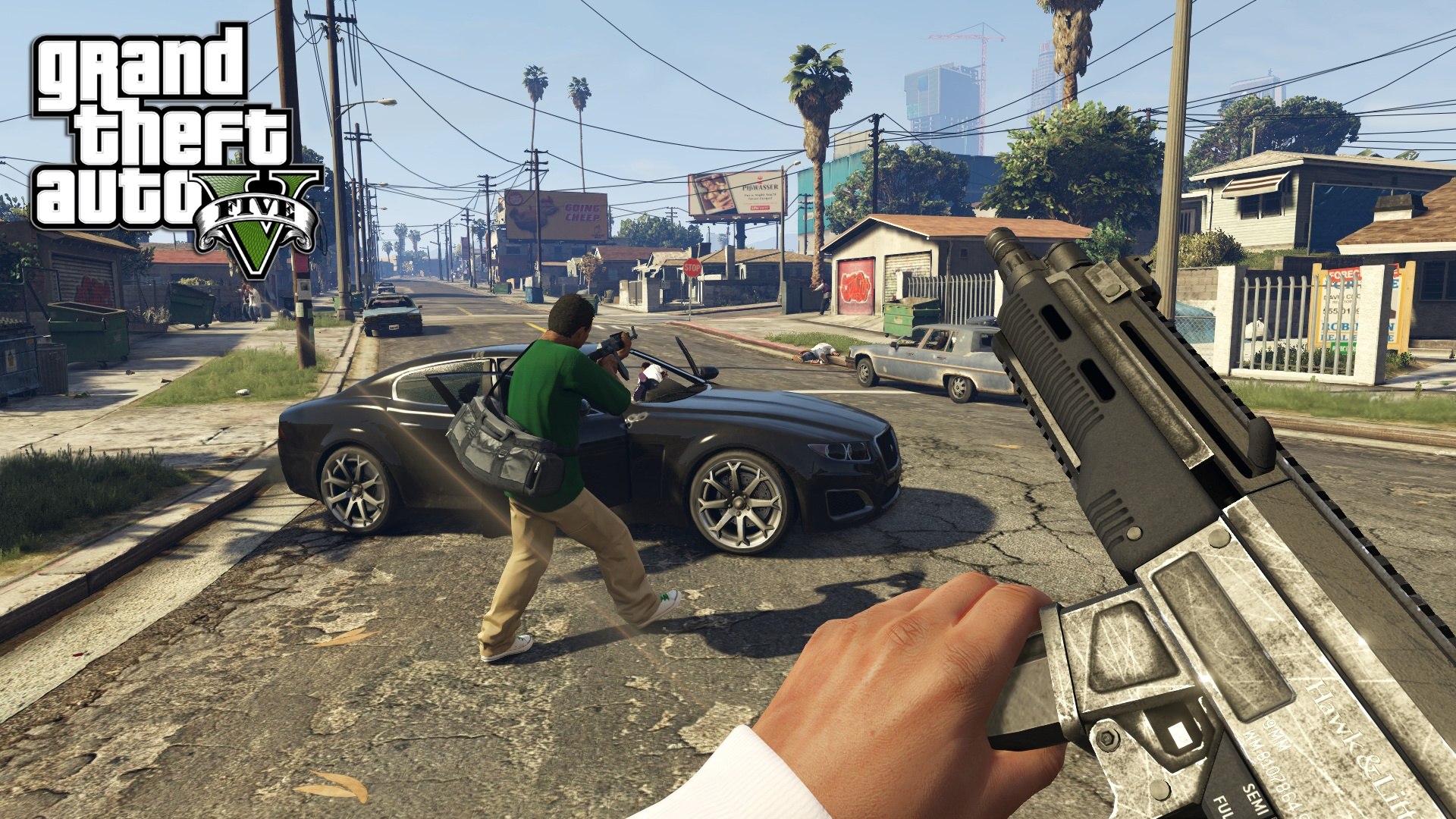 Скриншот к игре GTA 5 / Grand Theft Auto V [v 1.0.1180.1] (2015) PC   RePack от R.G. Механики