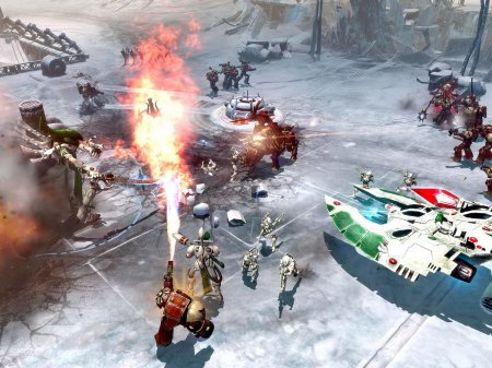 Скриншот к игре Warhammer 40,000: Dawn of War II: Chaos Rising (2009-2010) PC | RePack от R.G. Механики