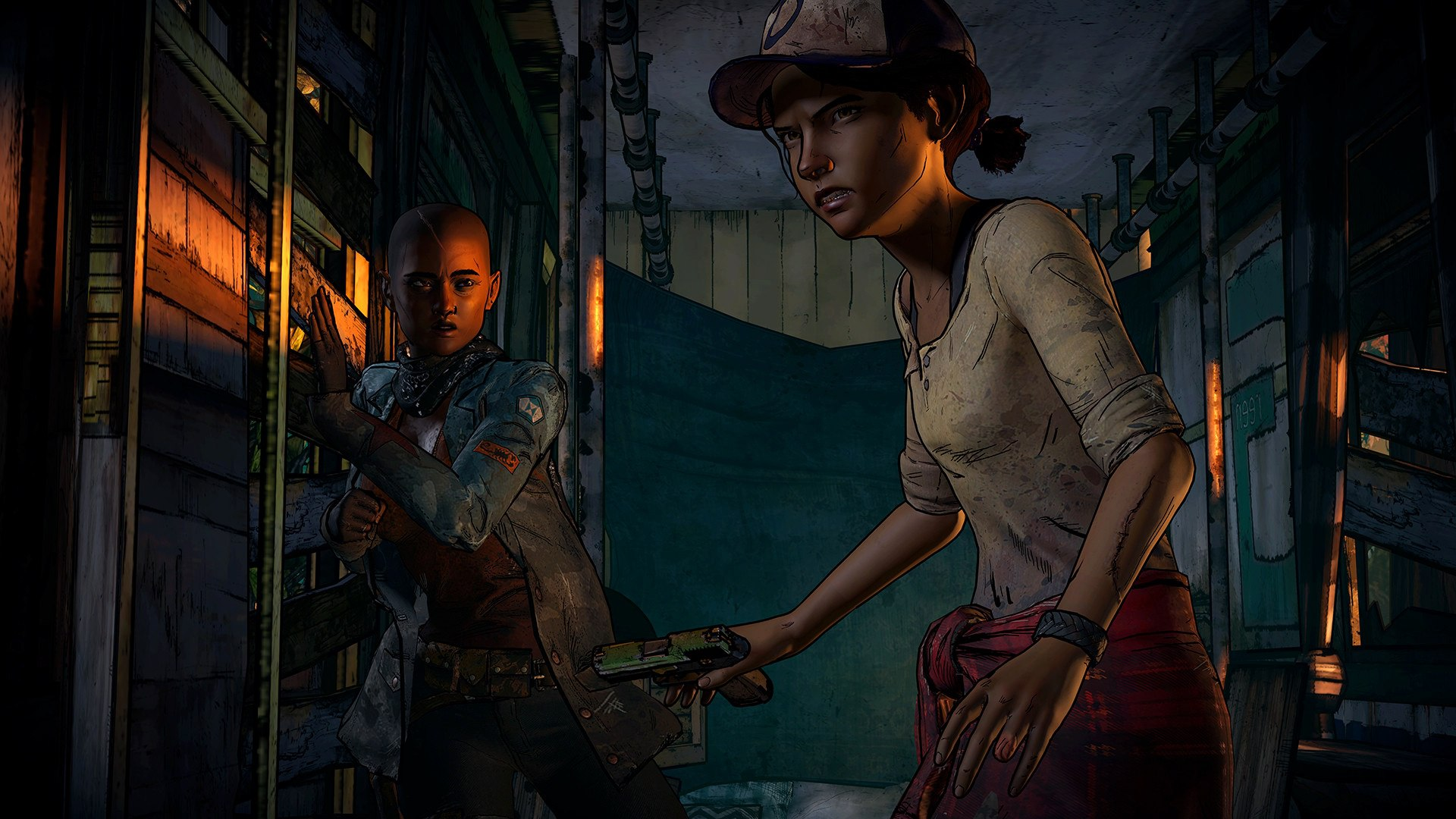Скриншот к игре The Walking Dead: A New Frontier - Episode 1-2 (2016) PC | RePack от R.G. Механики