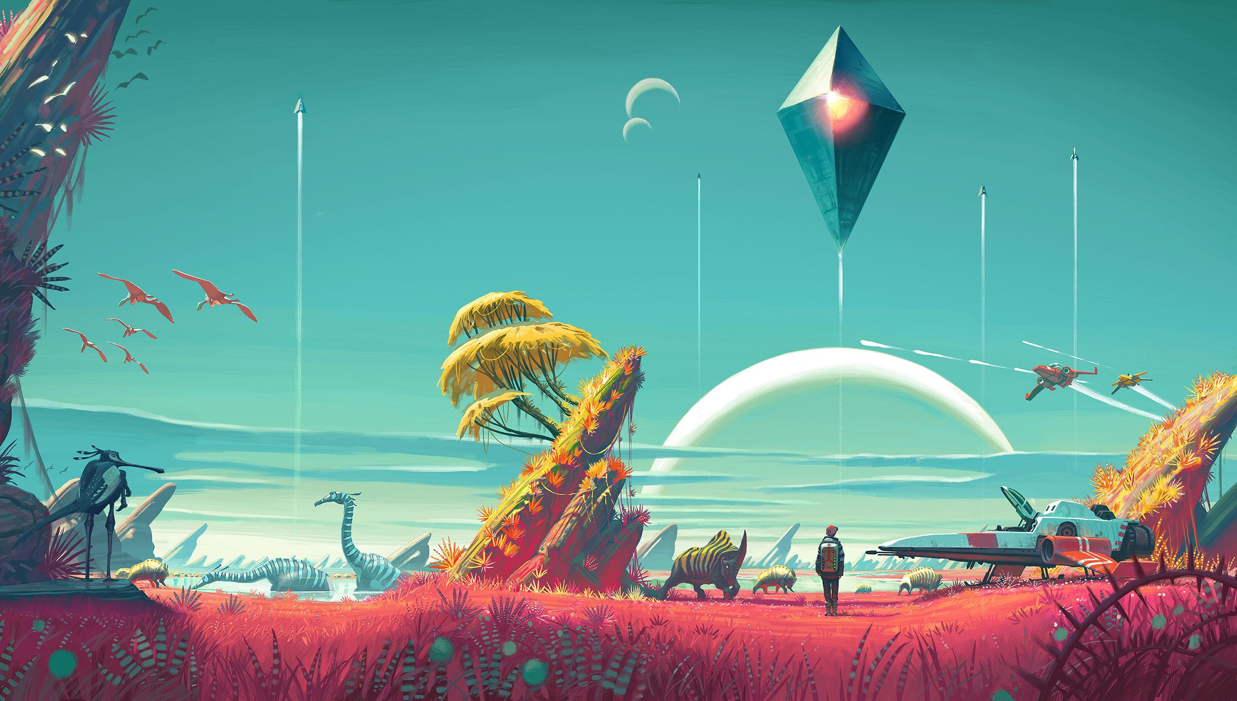 Скриншот к игре No Man's Sky [v 1.35 + DLC] (2016) PC   RePack от R.G. Механики