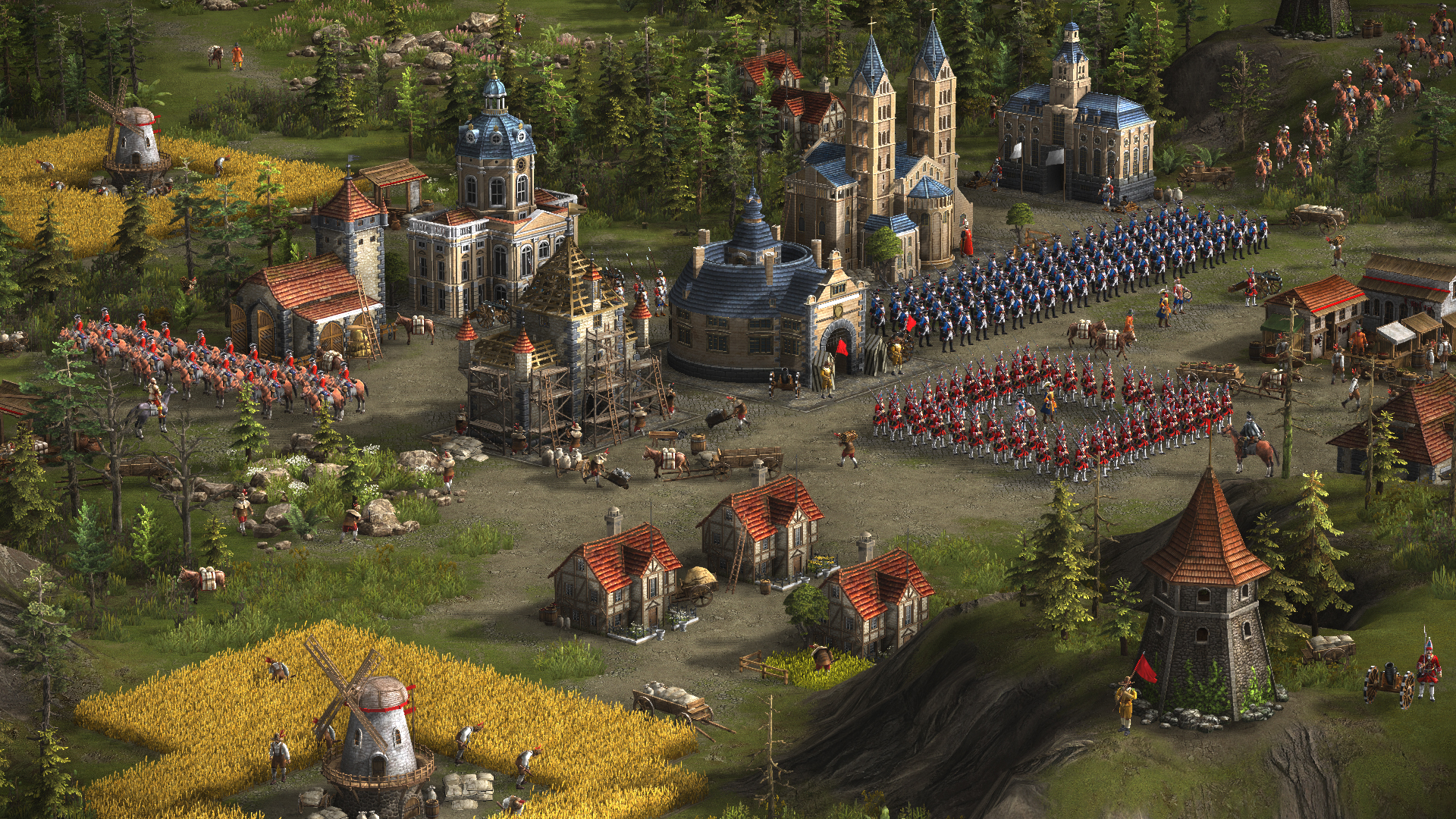 Скриншот к игре Казаки 3 / Cossacks 3 [v 2.1.4.90.5902 + 7 DLC] (2016) PC | RePack от R.G. Механики