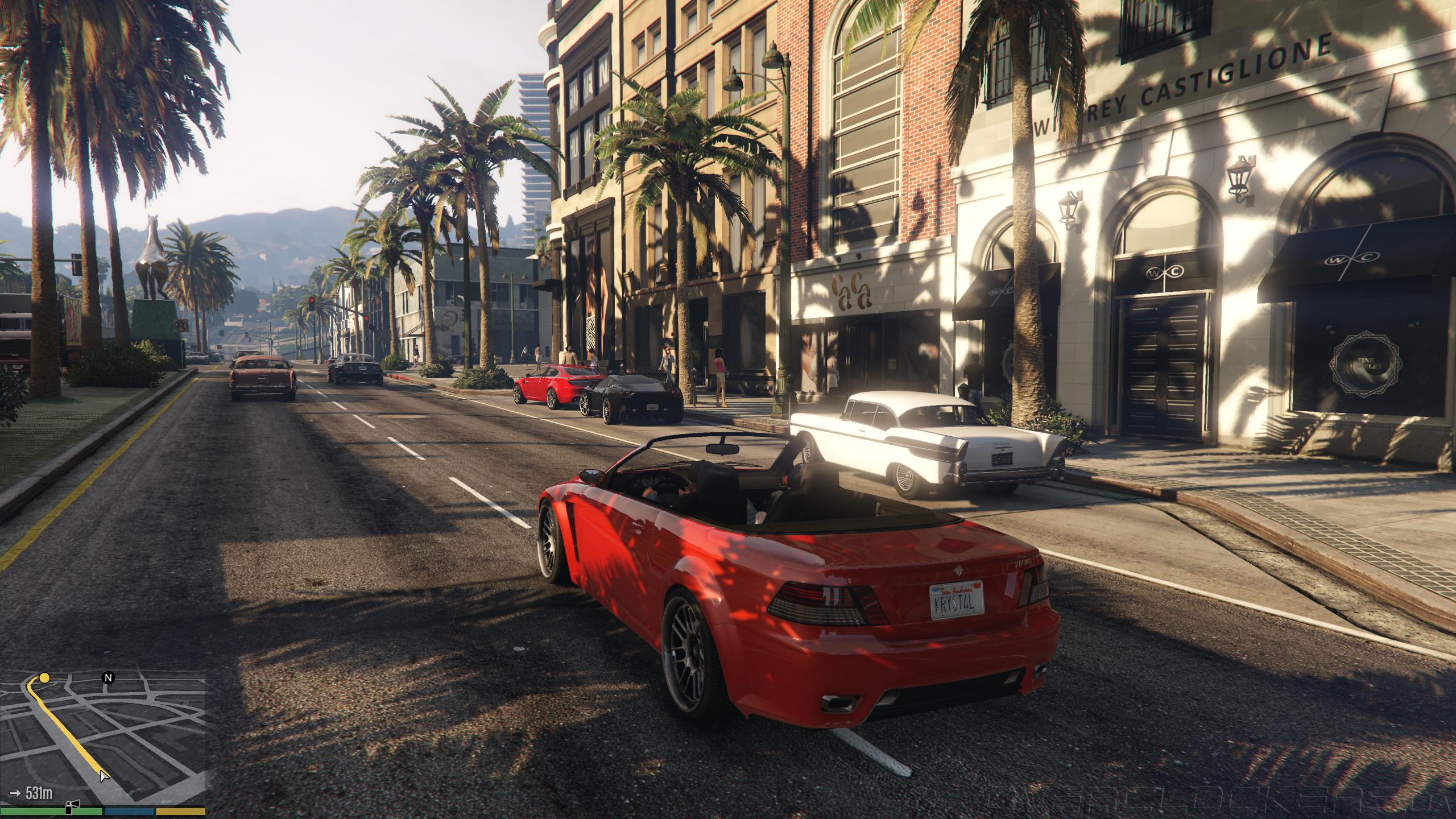 Скриншот к игре Grand Theft Auto V - Redux [v 1.0.1868/1.50]  (2015) PC   RePack от R.G. Механики
