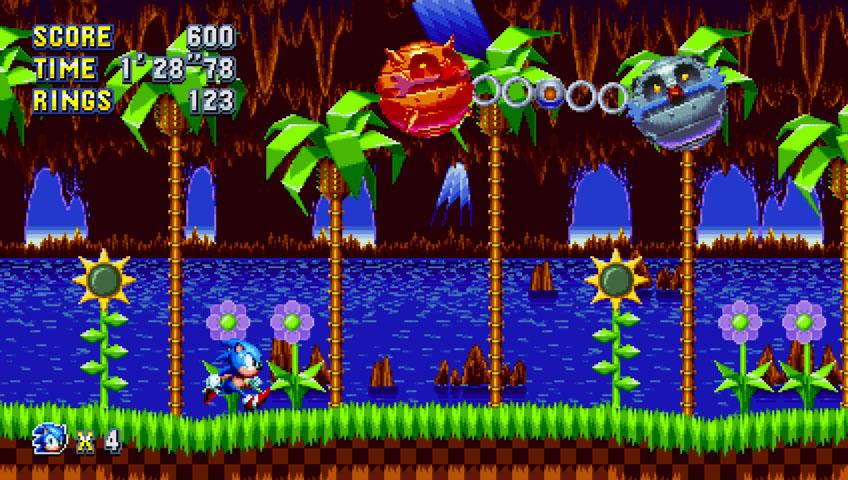 Скриншот к игре Sonic Mania [v 1.03] (2017) PC | RePack от R.G. Механики