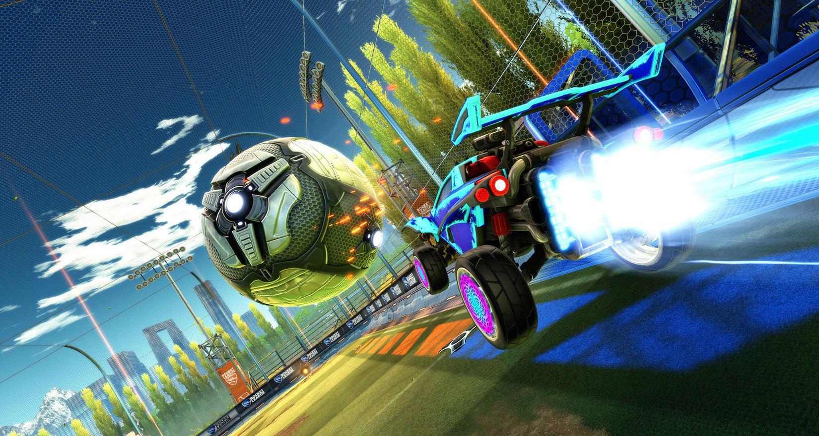 Скриншот к игре Rocket League [v 1.54 + DLCs] (2015) PC | RePack от R.G. Механики