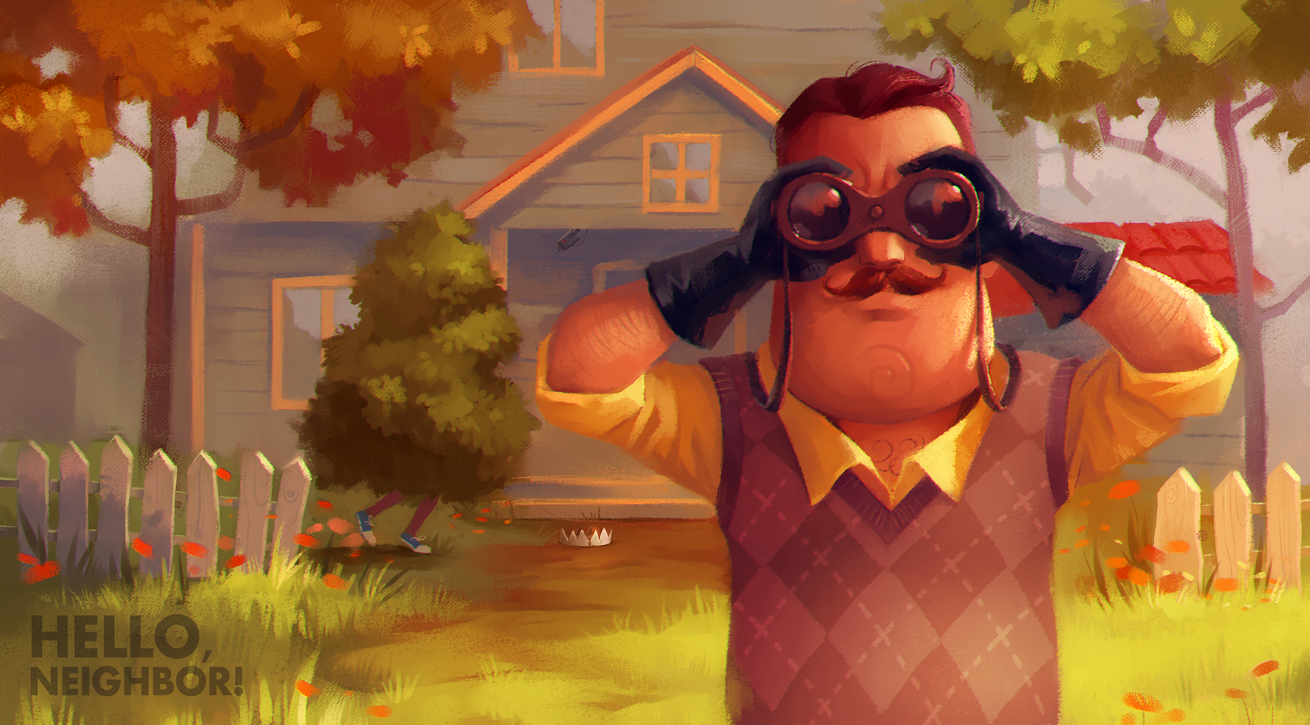 Скриншот к игре Hello Neighbor (2017) | RePack от R.G. Механики