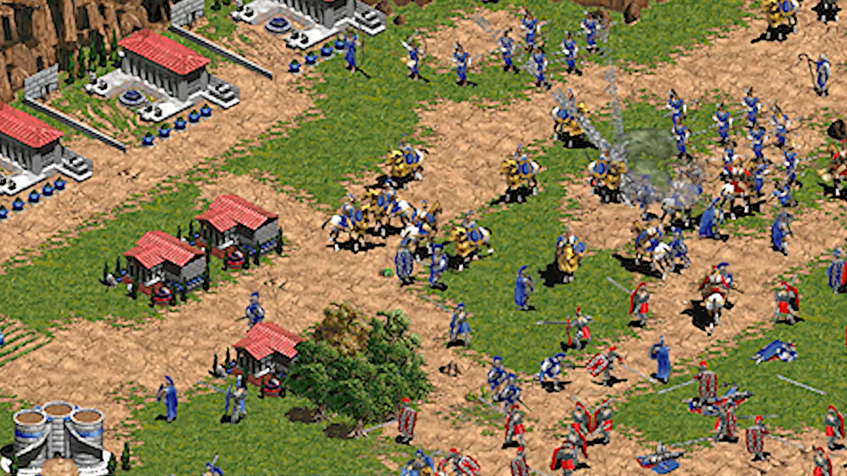 Скриншот к игре Age of Empires: Definitive Edition [v 1.3.5314] (2018) PC | Repack от R.G. Механики