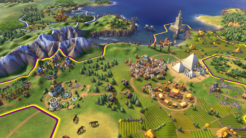 Скриншот к игре Sid Meier's Civilization VI: Digital Deluxe [v 1.0.0.229 + DLC's] (2016) PC | RePack от R.G. Механики