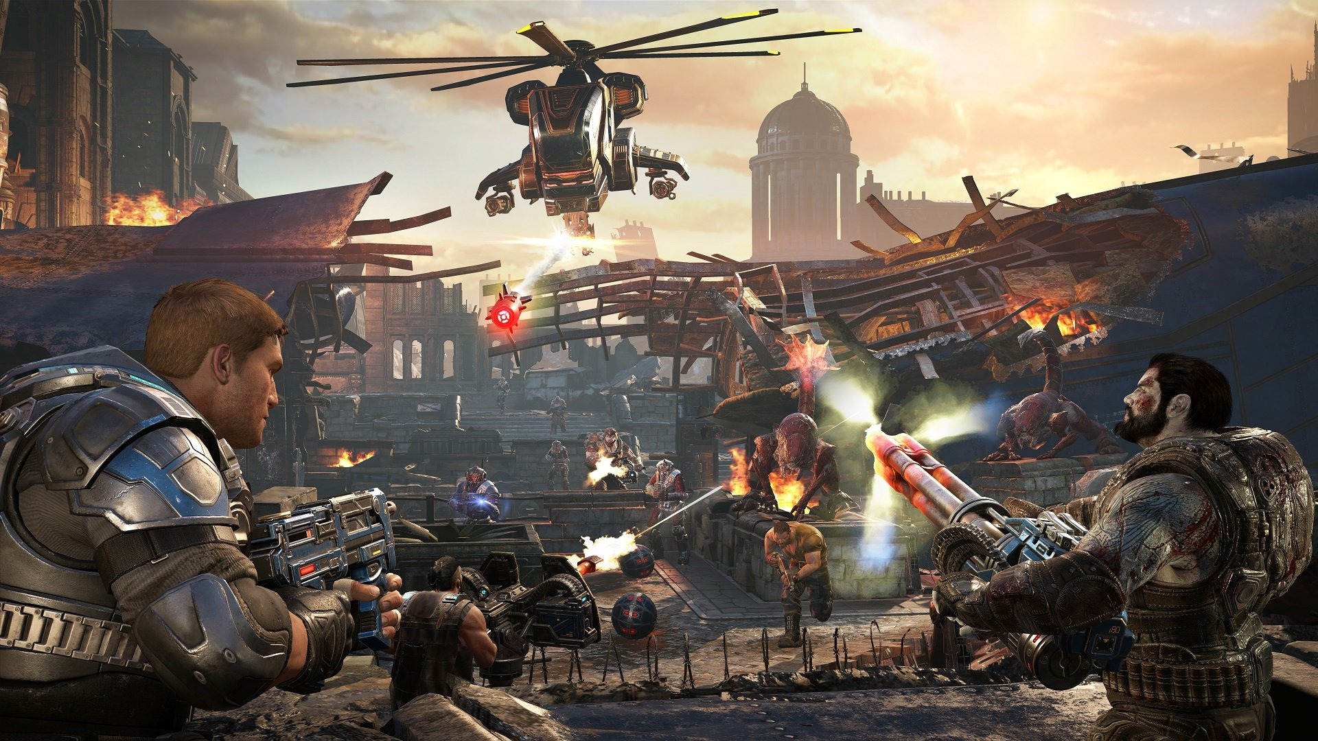 Скриншот к игре Gears of War 4 (2016) PC | Repack от R.G. Механики