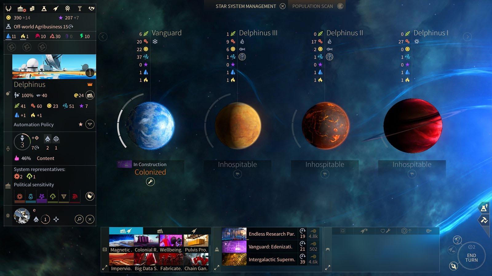 Скриншот к игре Endless Space 2: Digital Deluxe Edition [v 1.2.23] (2017) PC | RePack от R.G. Механики