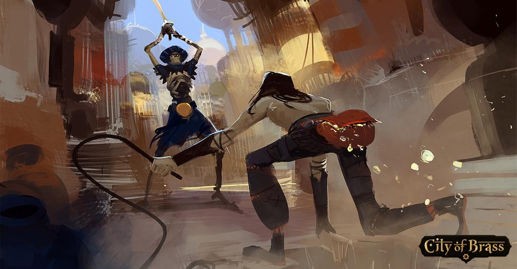 Скриншот к игре City of Brass [v 1.5.0] (2018) PC | RePack от R.G. Механики