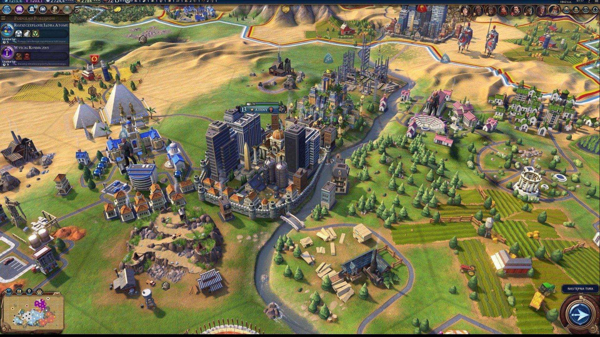 Скриншот к игре Sid Meiers Civilization VI (v. 1.0.1.501(504666)) (2016) скачать торрент RePack