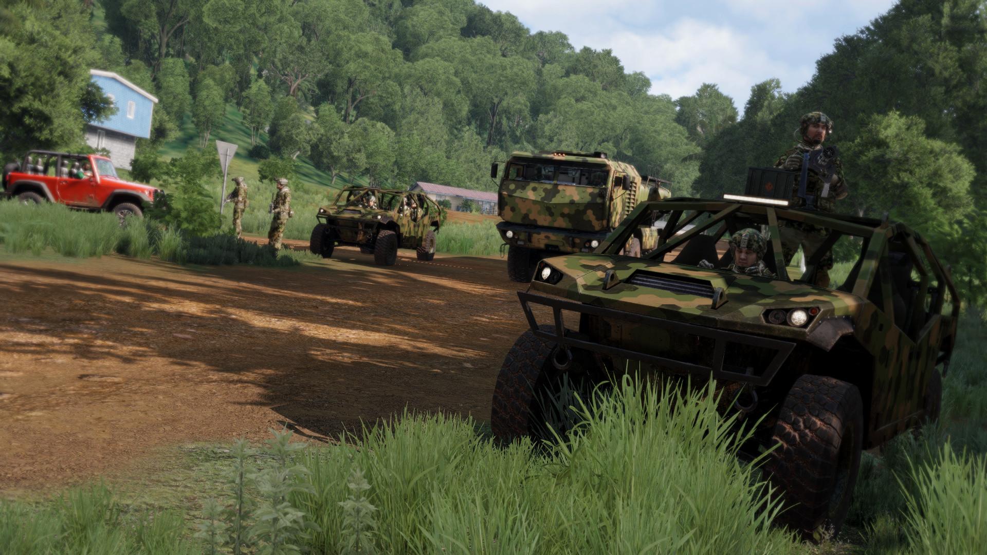 Скриншот к игре Arma 3: Apex Edition [v 1.98.146.303 + DLC's] (2013) PC | RePack от R.G. Механики