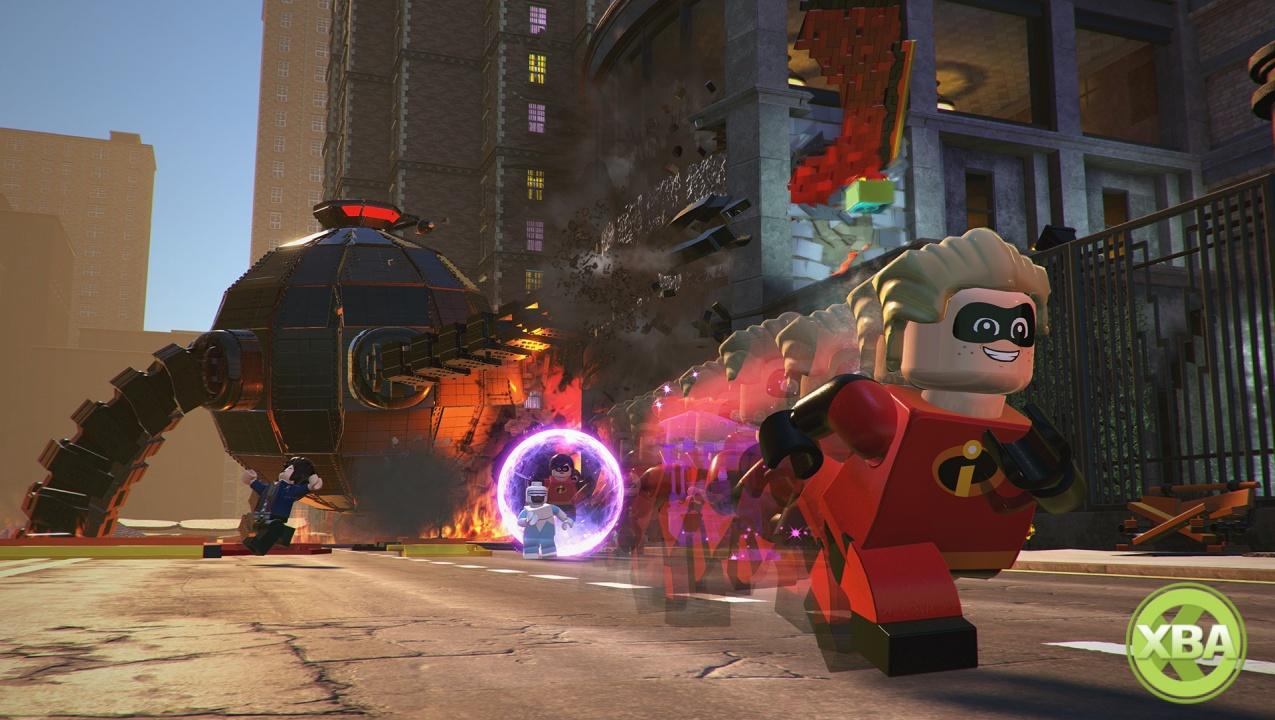 Скриншот к игре LEGO The Incredibles [v 1.0.0.62857 + 1 DLC] (2018) PC   Repack от R.G. Механики