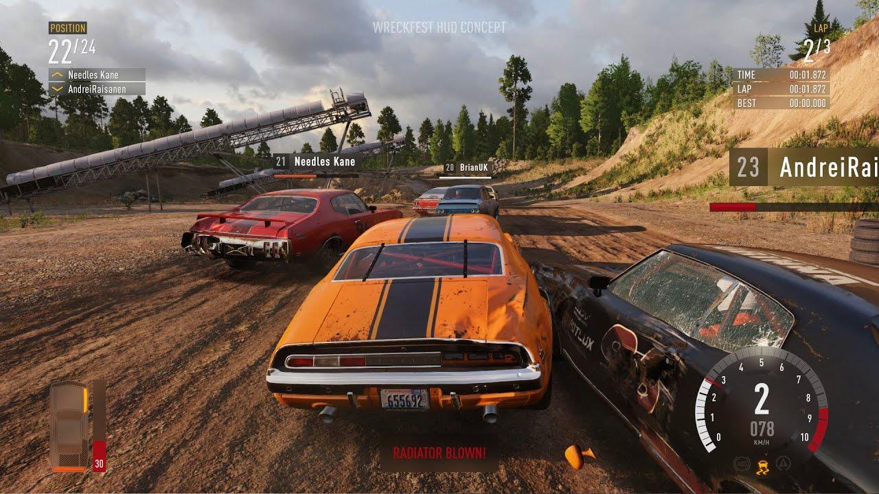 Скриншот к игре Wreckfest [v 1.250834 + DLCs] (2018) скачать торрент RePack от xatab
