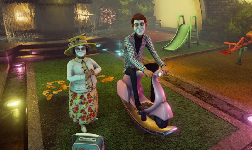 Скриншот к игре We Happy Few [v 1.5.72378] (2018) PC | RePack от R.G. Механики