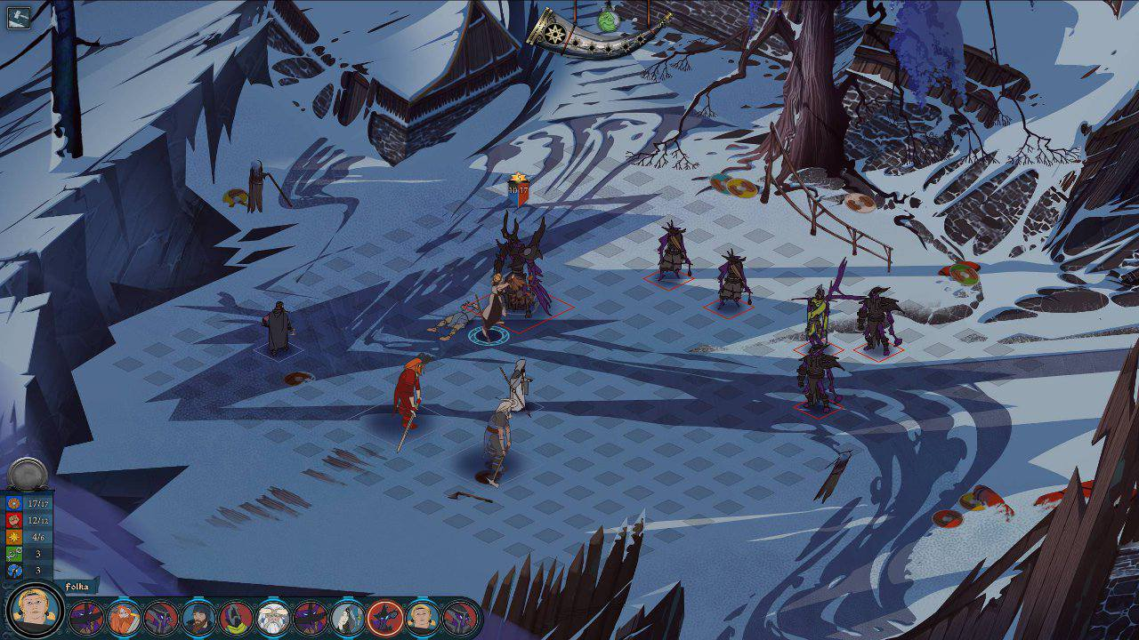 Скриншот к игре The Banner Saga 3 (2018) PC | RePack от R.G. Механики