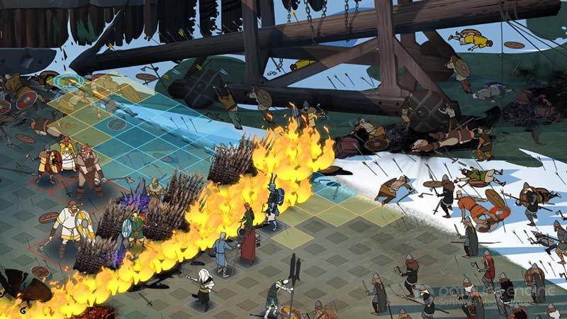 Скриншот к игре The Banner Saga 3: Legendary Edition [v 2.58.02 + DLCs] (2018) PC | RePack от R.G. Механики