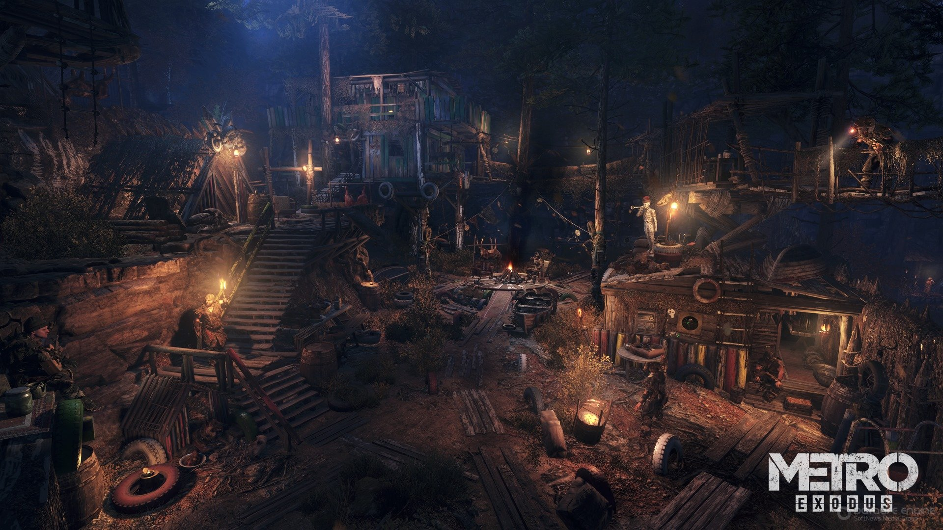 Скриншот к игре Metro: Exodus - Gold Edition v.1.0.0.7+2 DLC [CODEX] (2019) скачать торрент Лицензия