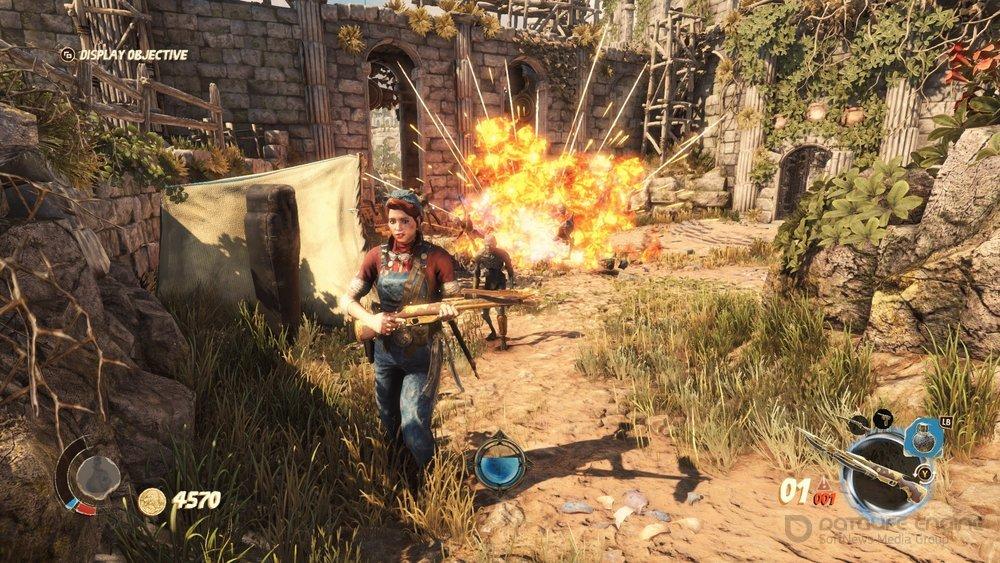 Скриншот к игре Strange Brigade (2018) PC | Repack от R.G. Механики