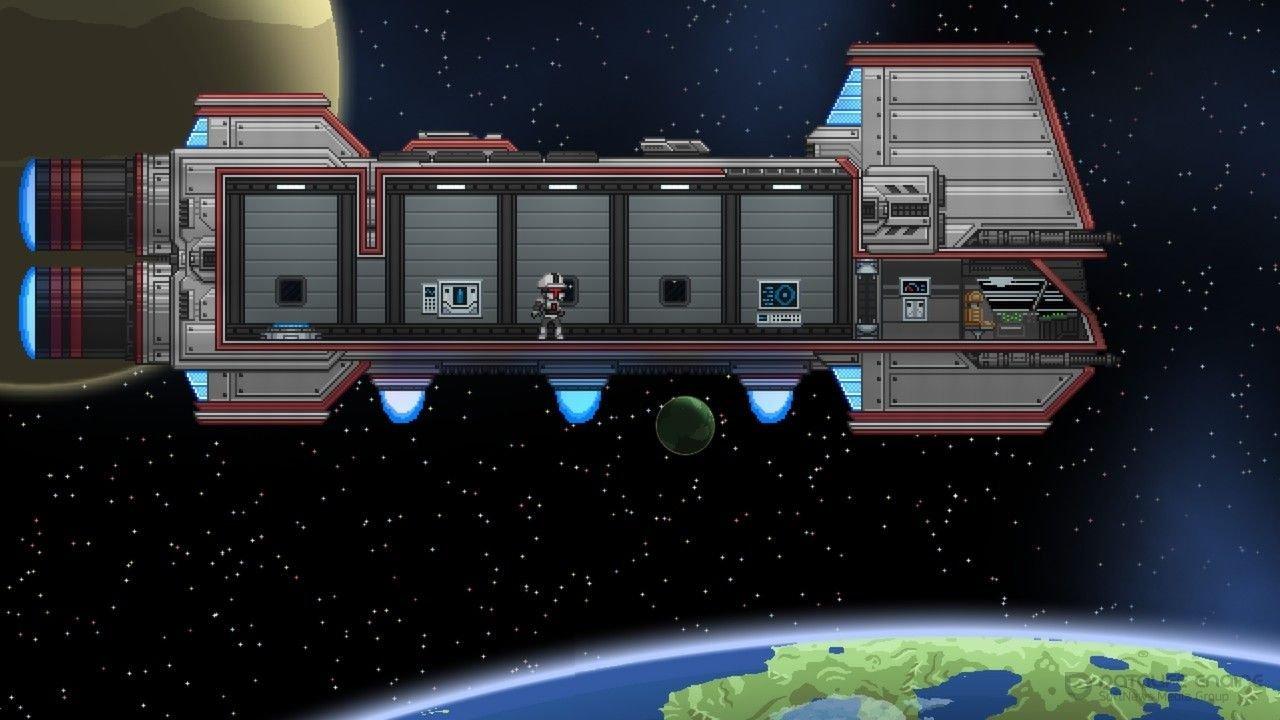 Скриншот к игре Starbound v.1.4.4 [PLAZA] (2016) скачать торрент Лицензия