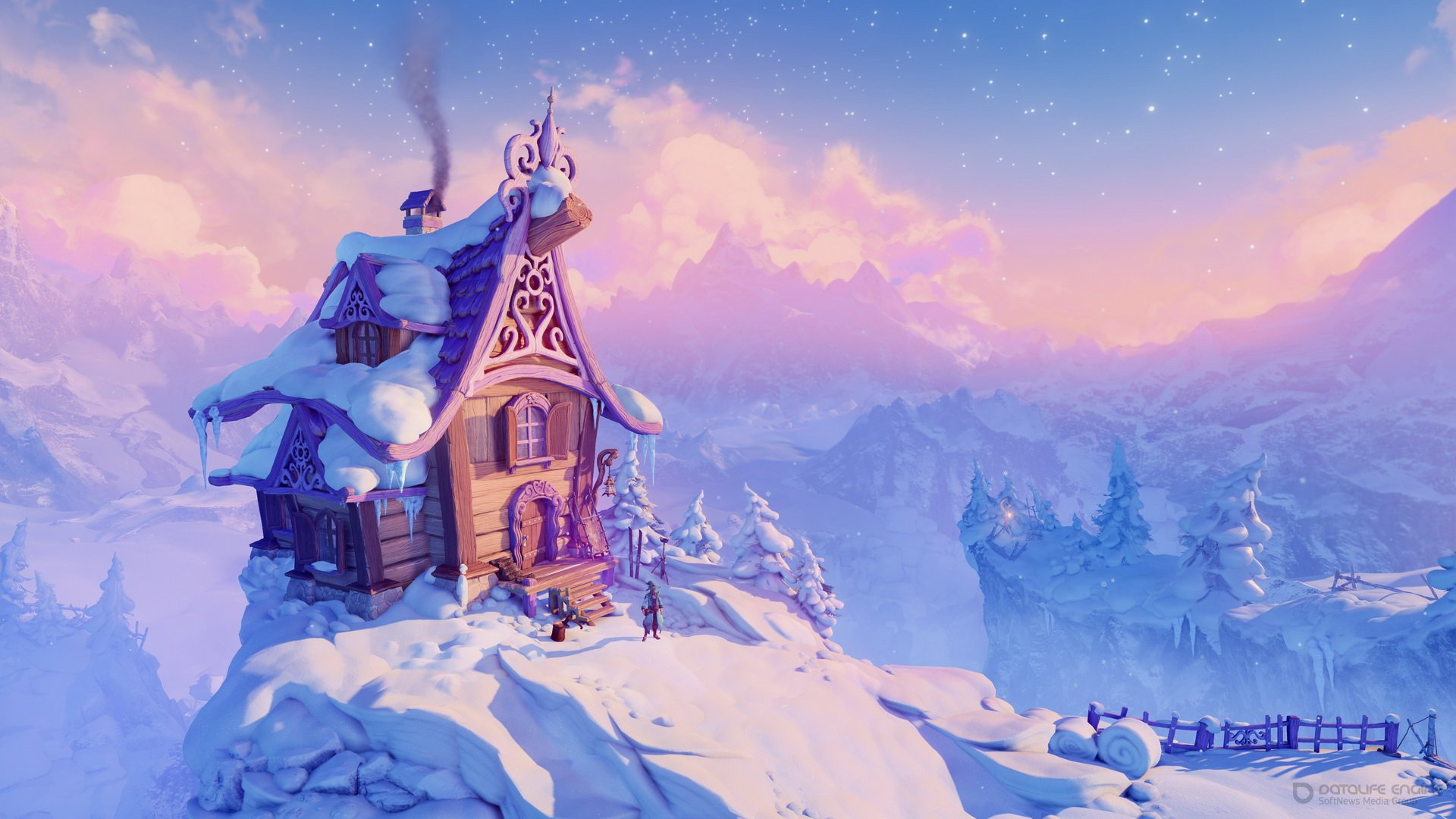 Скриншот к игре Trine 4: The Nightmare Prince [1.0.0.8236 (35264)] (2019) скачать торрент RePack от xatab