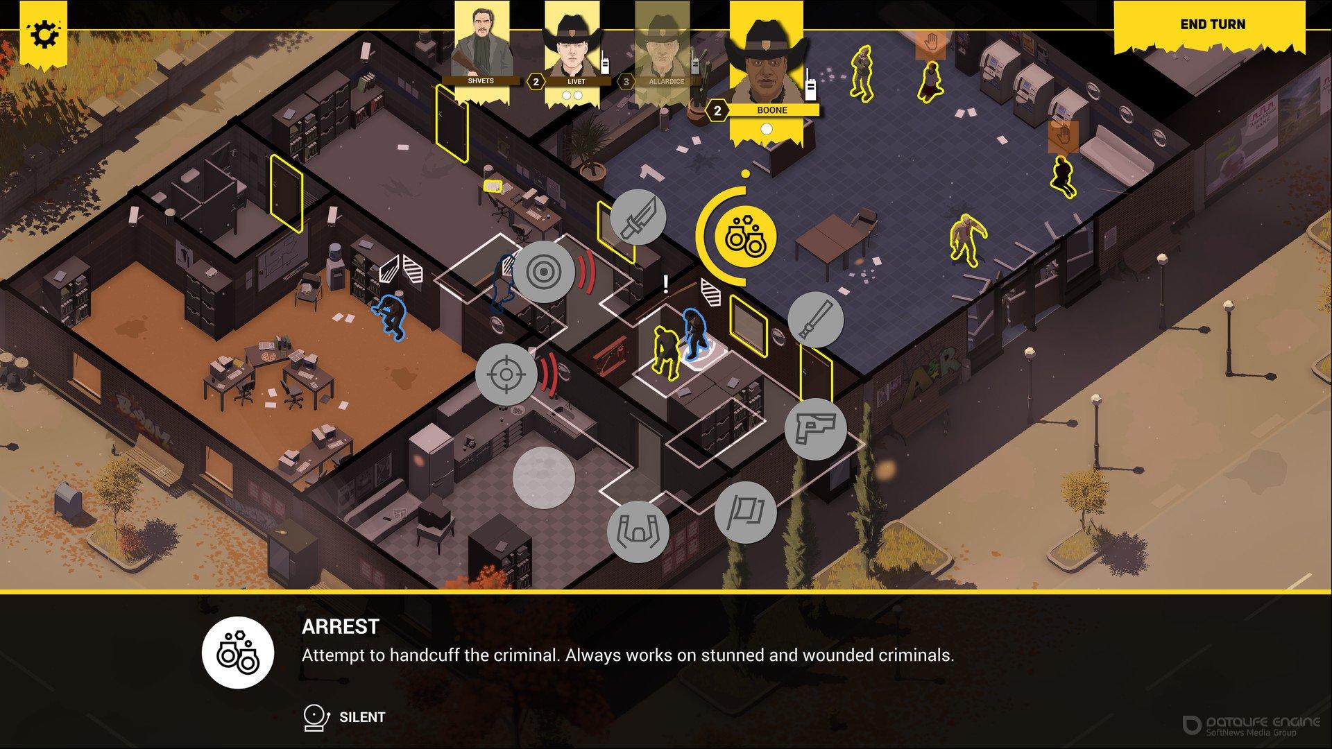 Скриншот к игре Rebel Cops v.1.1.0.3 [GOG] (2019) скачать торрент Лицензия