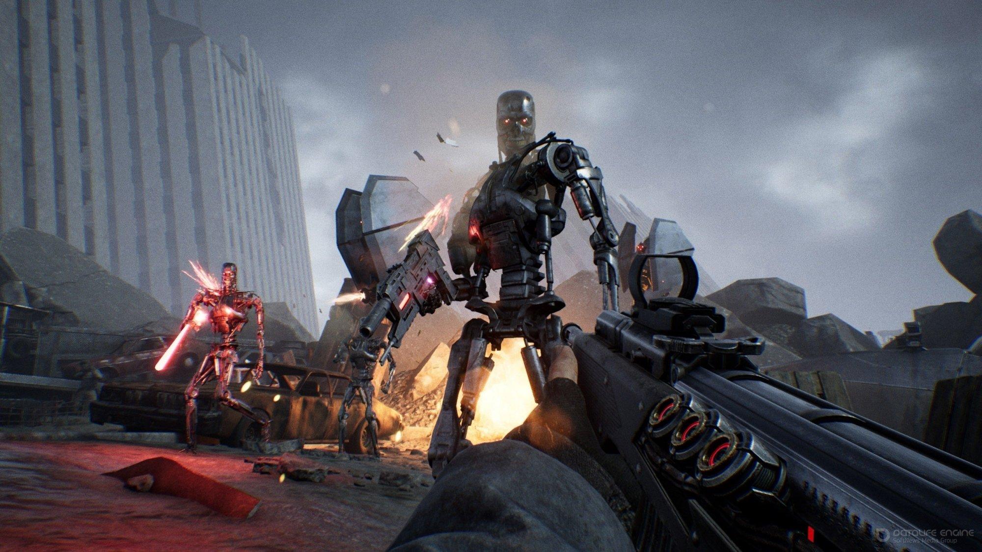 Скриншот к игре Terminator: Resistance [v 1.030a (37880)] (2019) скачать торрент RePack