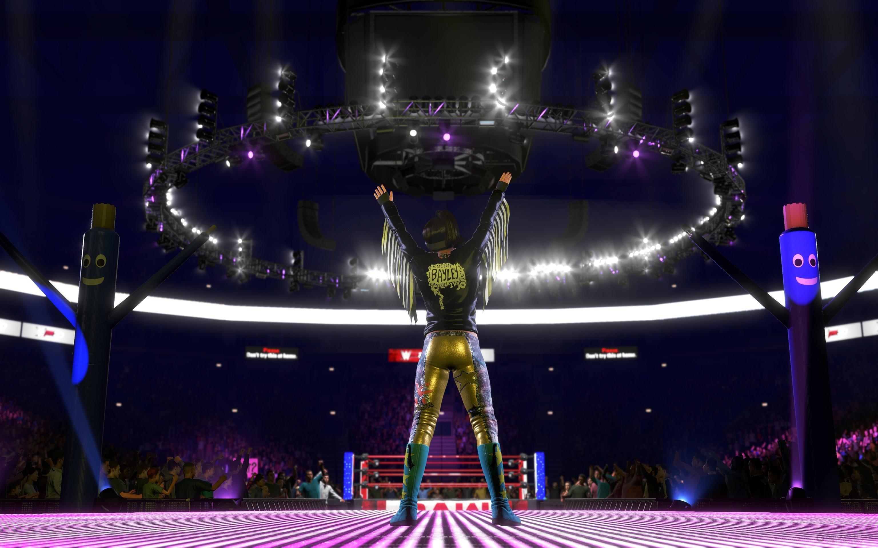 Скриншот к игре WWE 2K20 Deluxe Edition (v 1.08) (2019) скачать торрент RePack