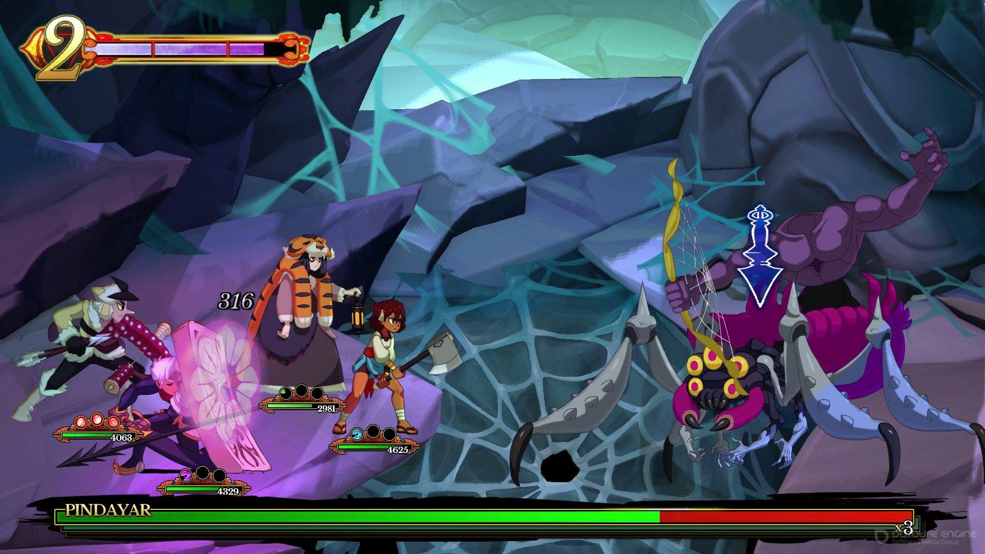 Скриншот к игре Indivisible v.42416r [GOG] (2019) скачать торрент Лицензия