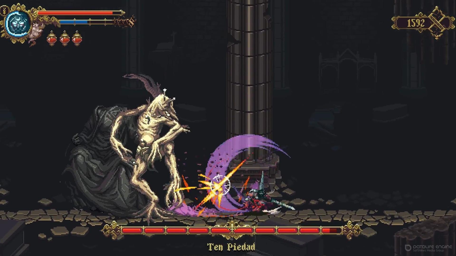 Скриншот к игре Blasphemous v.1.0.9 [GOG] (2019) скачать торрент Лицензия