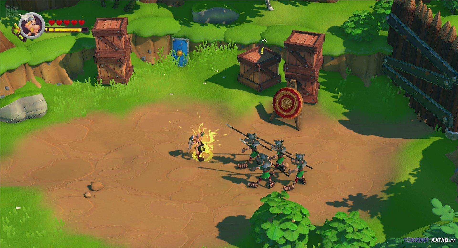 Скриншот к игре Asterix & Obelix XXL 3 The Crystal Menhir (1.59 (35937)+DLC) (2019) скачать торрент RePack