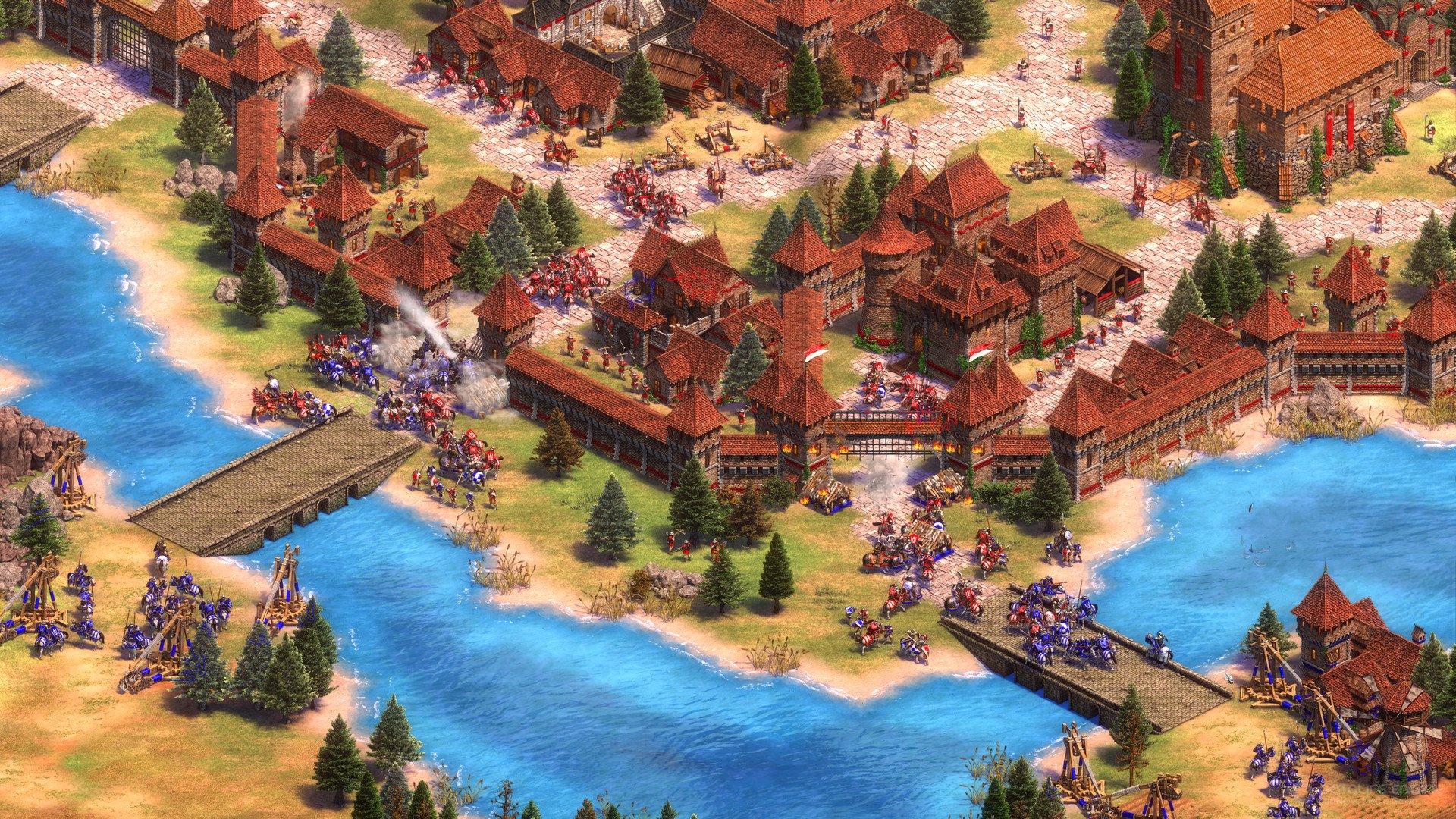 Скриншот к игре Age of Empires II: Definitive Edition [Build 36906] (2019) скачать торрент RePack