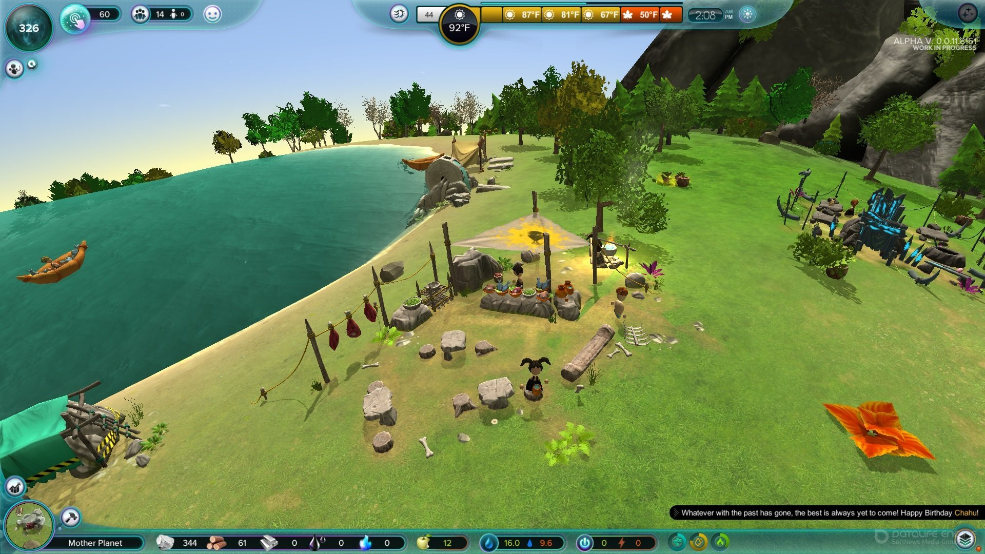 Скриншот к игре The Universim v.0.0.38.27611 [GOG] (Ранний доступ) скачать торрент Лицензия
