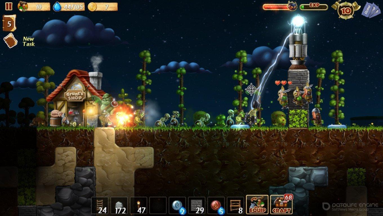 Скриншот к игре Craft The World v.1.7.002 [GOG] (2014) скачать торрент Лицензия