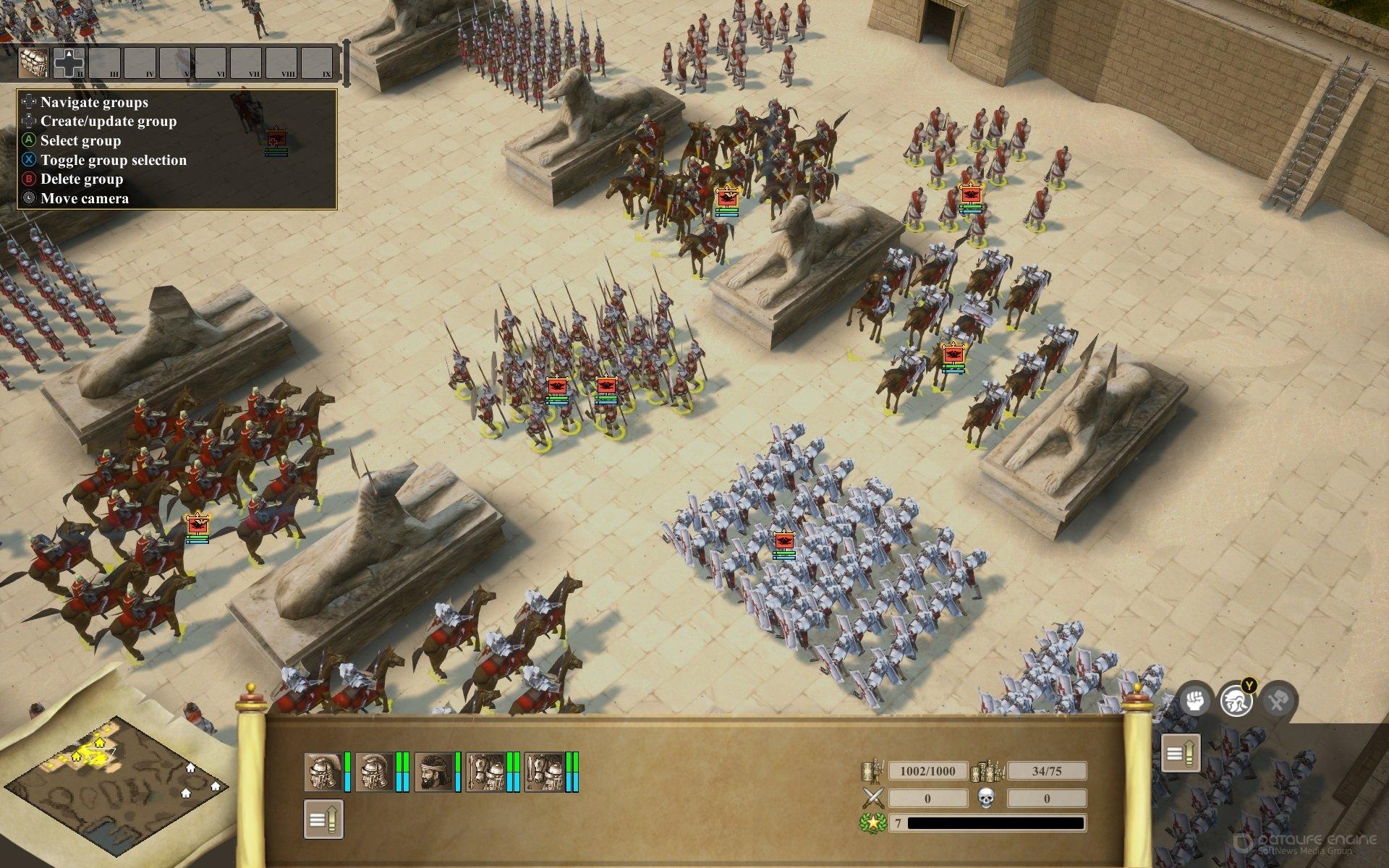 Скриншот к игре Praetorians - HD Remaster v.1.02 [GOG] (2003-2020) скачать торрент Лицензия