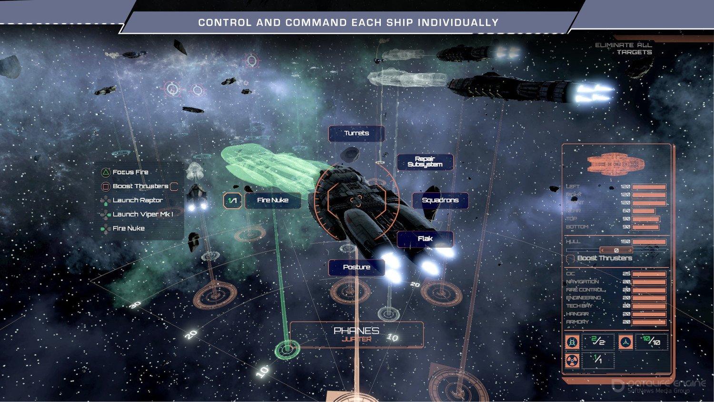 Скриншот к игре Battlestar Galactica Deadlock v.1.4.98 [GOG] (2017) скачать торрент Лицензия