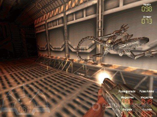 Скриншот к игре Aliens versus Predator Classic 2000 [GOG] (1999-2000-2010) скачать торрент Лицензия