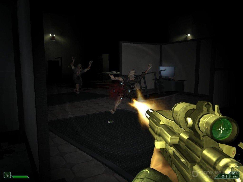 Скриншот к игре Area-51 v.1.0.87371 [Новый Диск] (2005) скачать торрент Лицензия