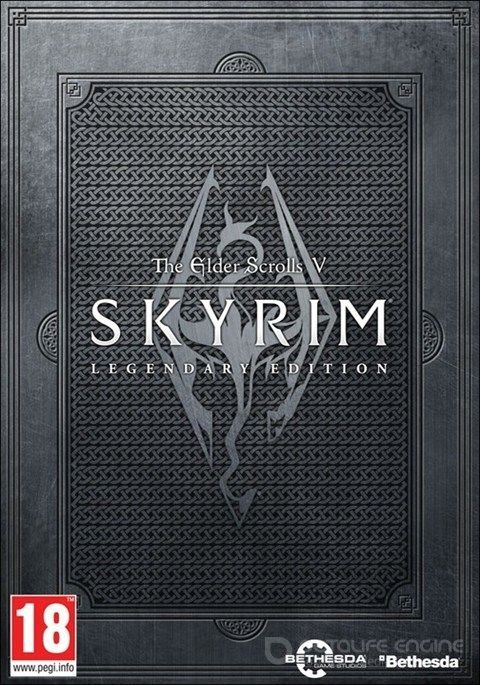 The Elder Scrolls V: Skyrim Legendary Edition v.1.9.32.0.8 + 4 DLC (2011-2013)