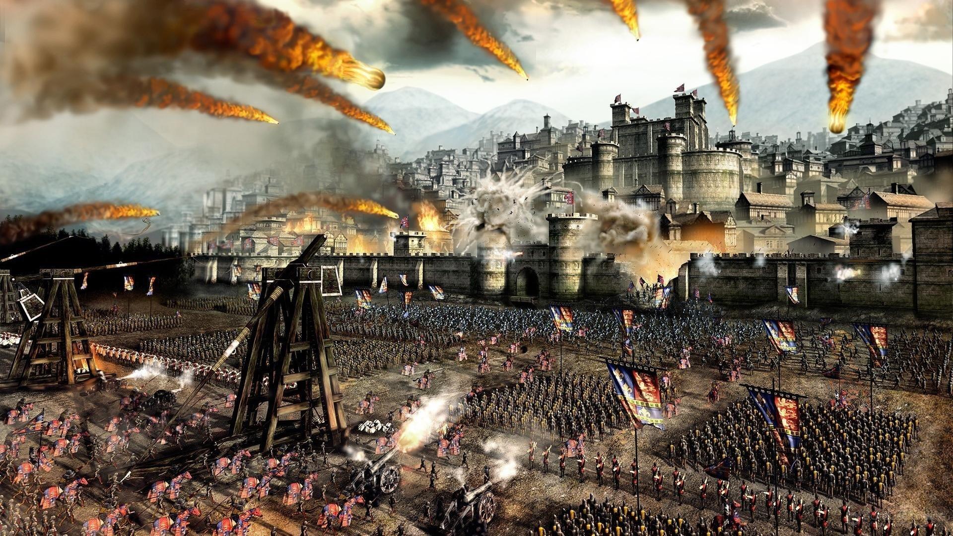 Скриншот к игре Total War: MEDIEVAL II – Definitive Edition (2006 -2018-DE) скачать торрент RePack