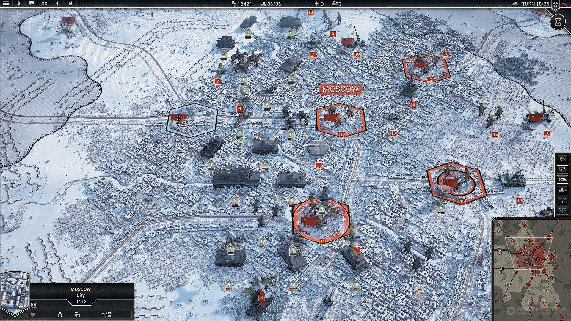 Скриншот к игре Panzer Corps 2 [v 01.01.00b (37819)] (2020) скачать торрент RePack