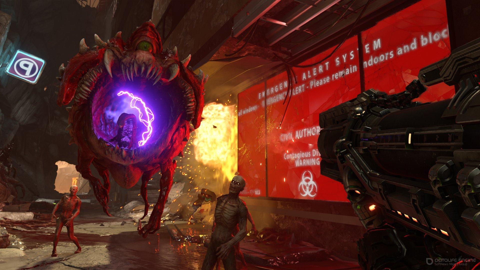 Скриншот к игре DOOM Eternal - Deluxe Edition (2020) скачать торрент RePack