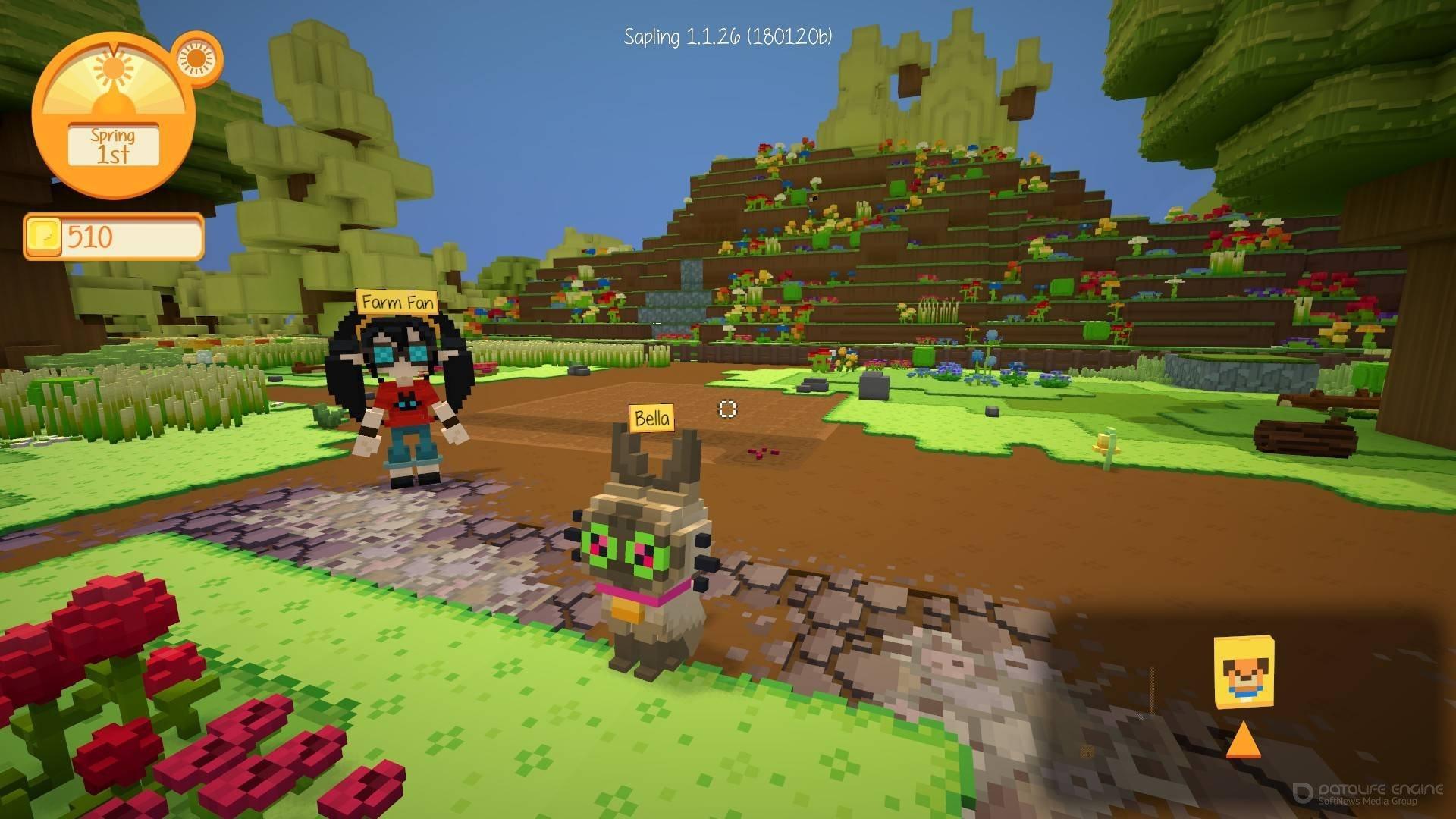 Скриншот к игре Staxel v.1.4.43 [GOG] (2019) скачать торрент Лицензия