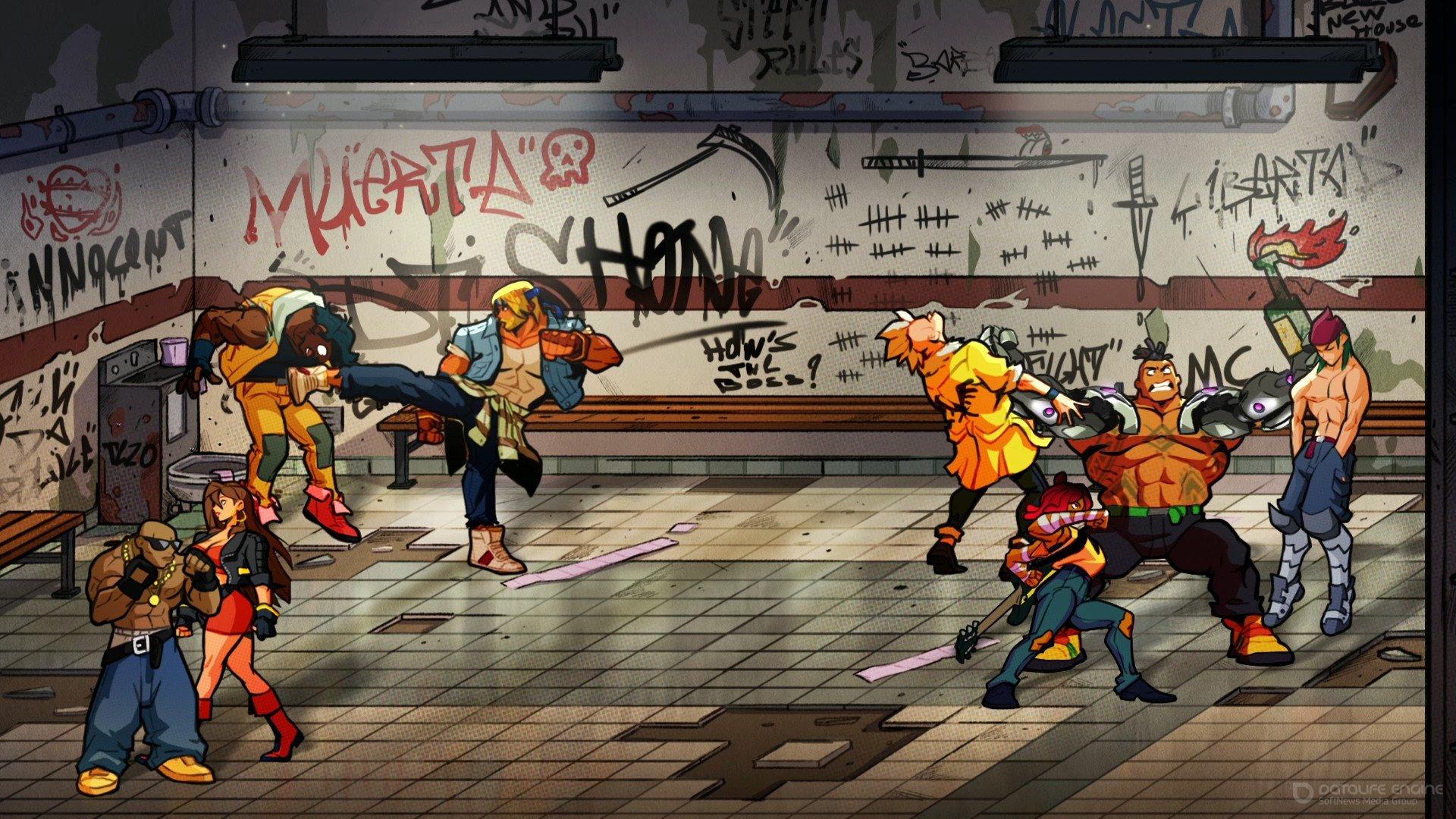 Скриншот к игре Streets of Rage 4 (2020) скачать торрент RePack