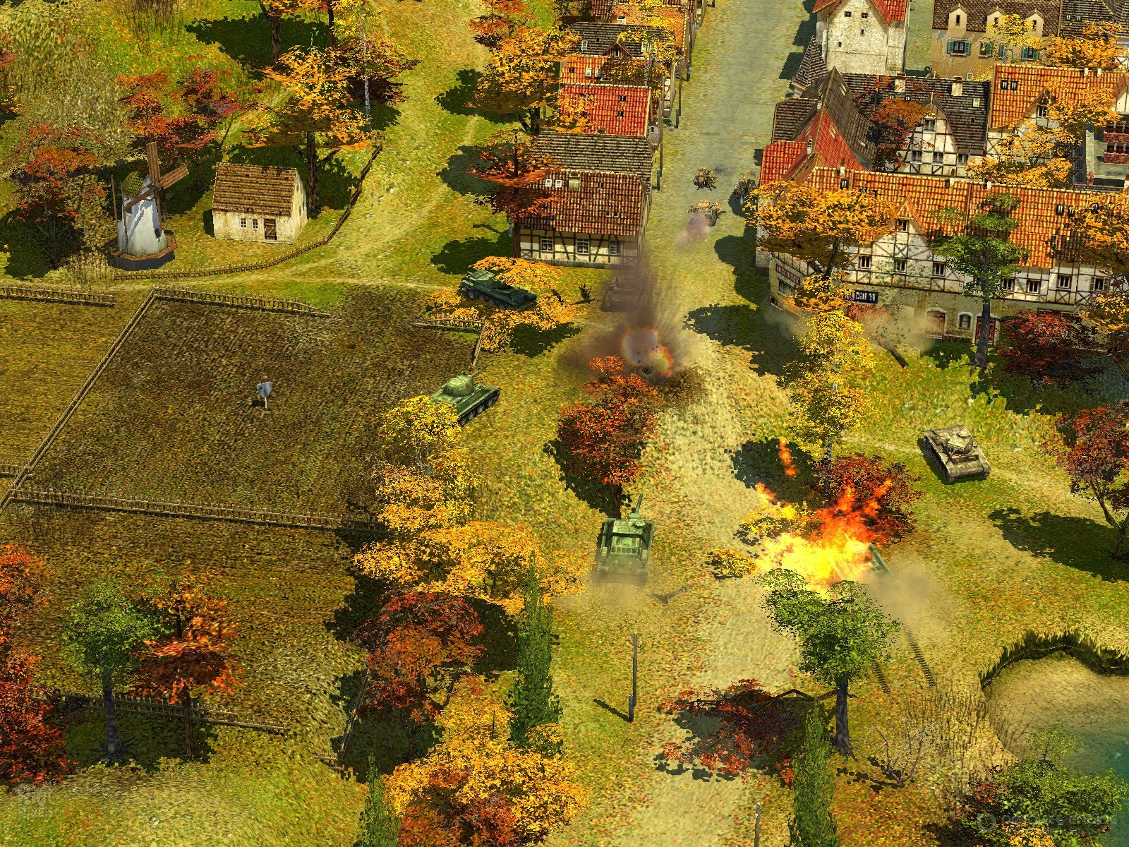 Скриншот к игре Blitzkrieg 2 Anthology (2008) скачать торрент RePack
