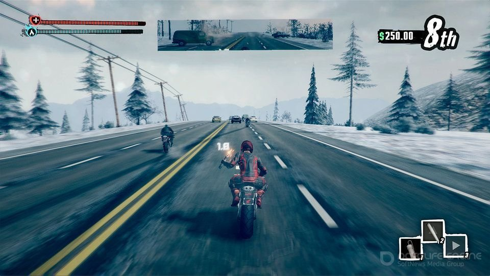 Скриншот к игре Road Redemption (2017) скачать торрент RePack