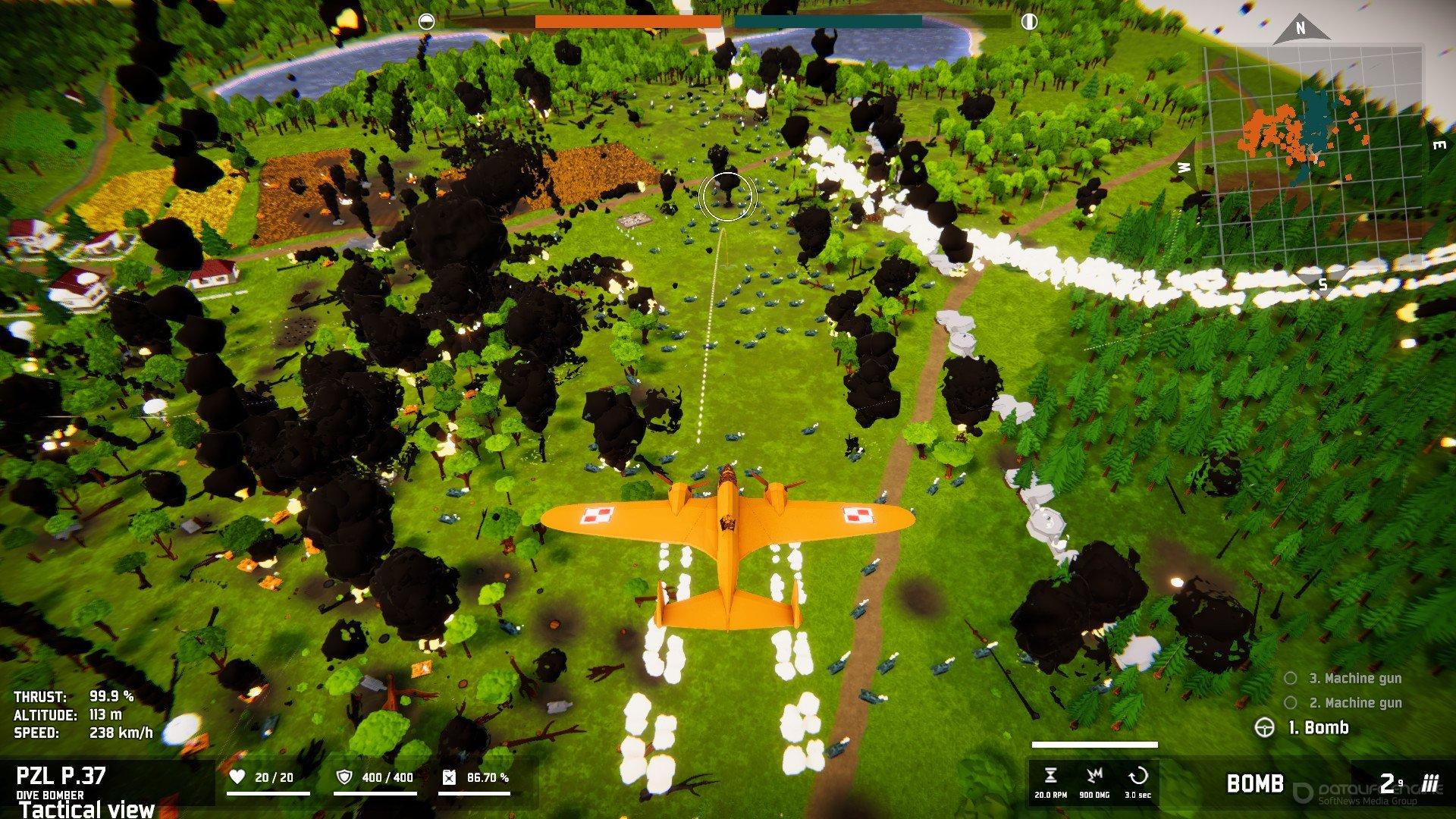Скриншот к игре Total Tank Simulator [CODEX] (2020) скачать торрент Лицензия