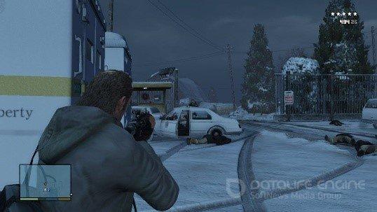 Скриншот к игре Grand Theft Auto V v.1.0.1868 [EGS-Rip] (2015) скачать торрент Лицензия